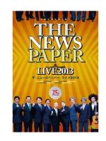 ザ・ニュースペーパーLIVE2013